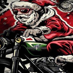 Santa gets a brand new sleigh