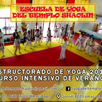 Instructorado de Yoga Intensivo. Verano 2018