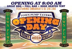 Town Pump Tavern Opening Day Celebration