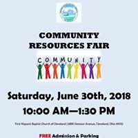 Feria de Recursos para la Comunidad- Community Resource Fair