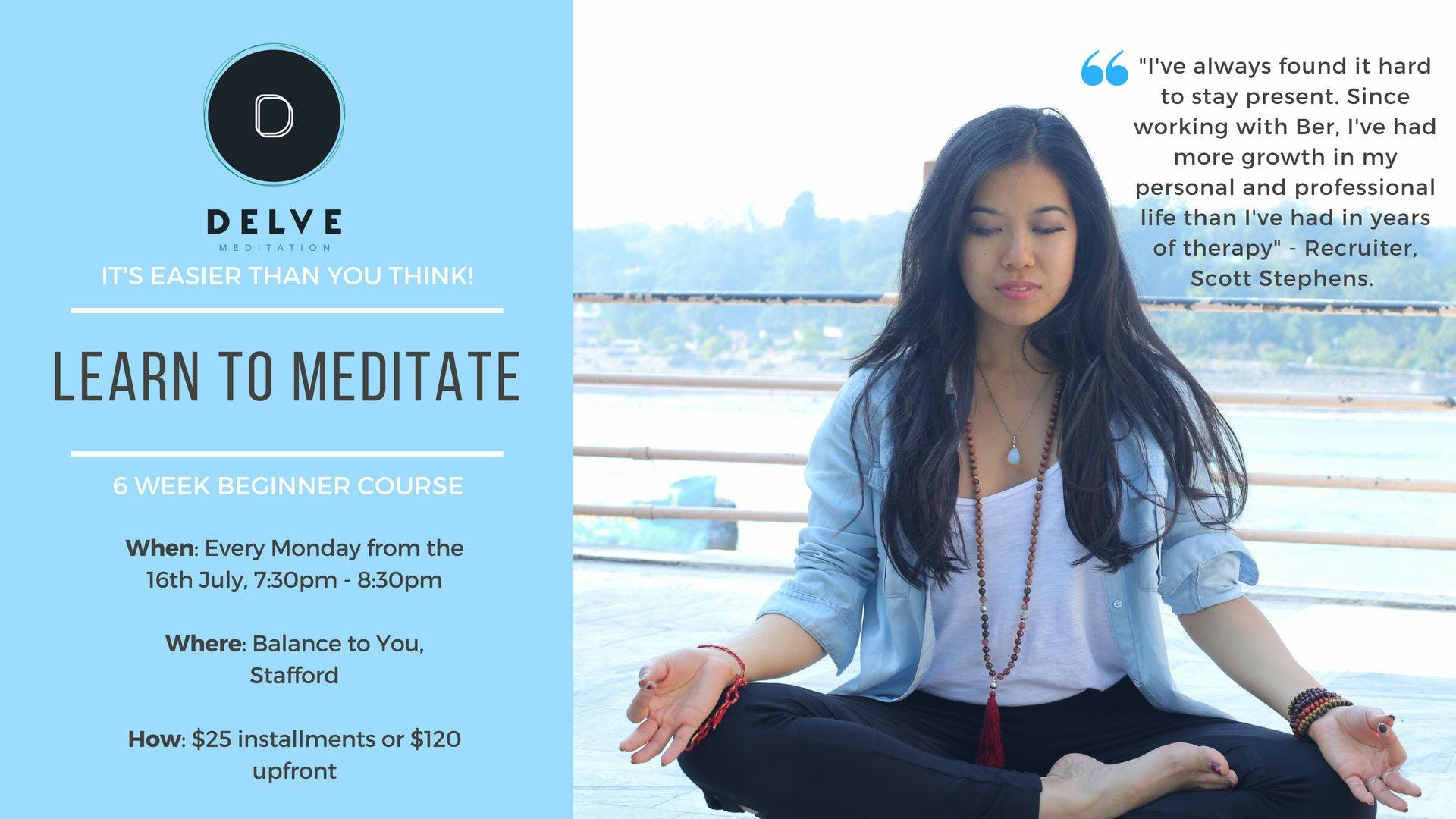 Learn to Meditate - 6 Weeks to Serenity
