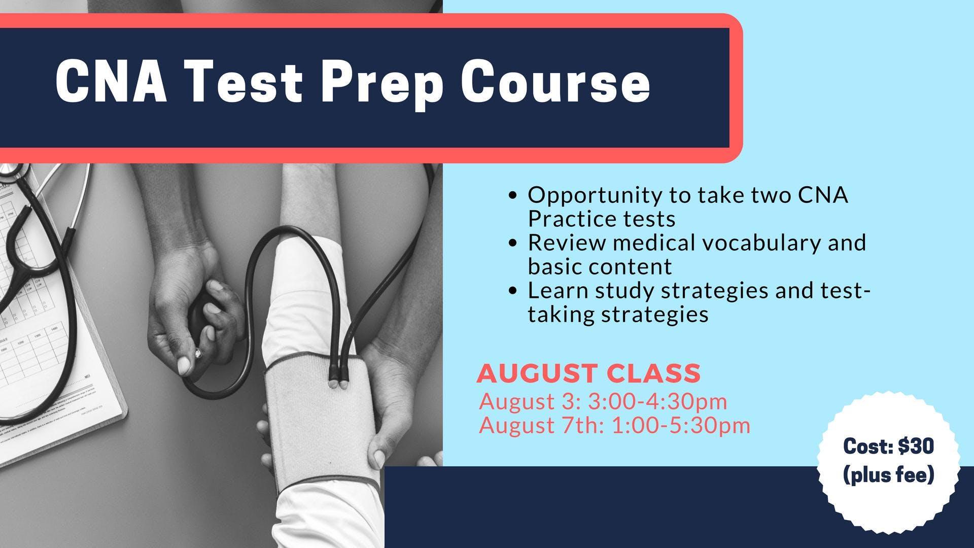 Cna Test Prep August 2018 At Methodist College Peoria
