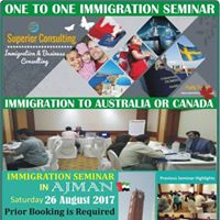 One to One Immigration Seminar in Ajman - UAE