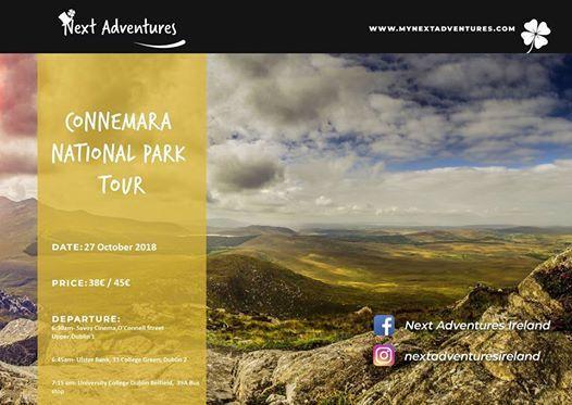 Connemara National Park & Kylemore Abbey Tour  27.10.2018
