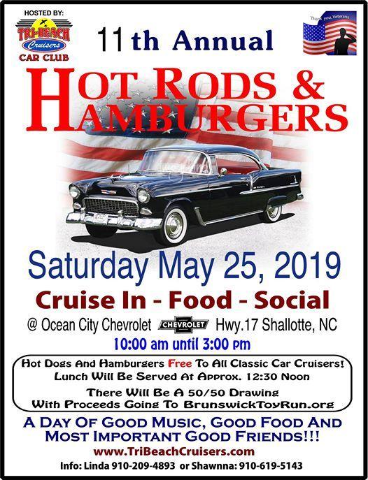 Ocean City Chevrolet >> Hot Rods Hamburgers At Ocean City Chevrolet Carolina