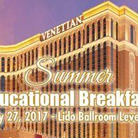 LVHA Summer Educational Breakfast