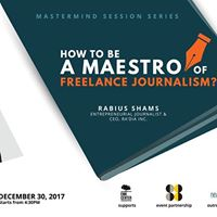 Session on &quotHow to be a Maestro of Freelance Journalism&quot