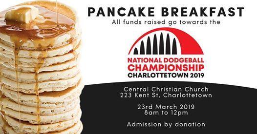 Nationals Pancake Breakfast Fundraiser