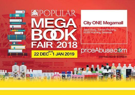 Popular Mega Book Fair 2018 At Cityone Megamallkuching Malaysia