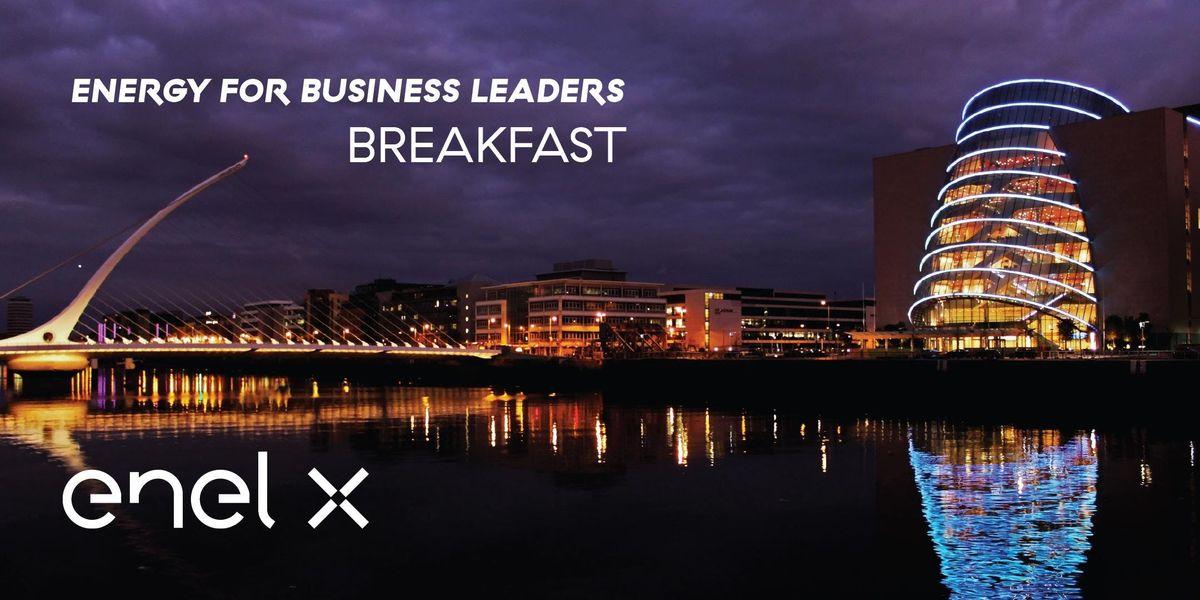 Enel Xs Energy for Business Leaders Breakfast Dublin