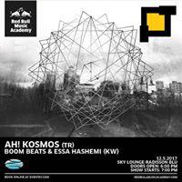 Music Night by RedBull Music Academy- Ah Kosmos - Boom Beats &amp Essa Hashemi .