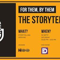 The Storytellers by HBB - Mumbai Storytelling Open Mic