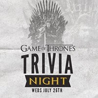 Game of Thrones Trivia at Stockies