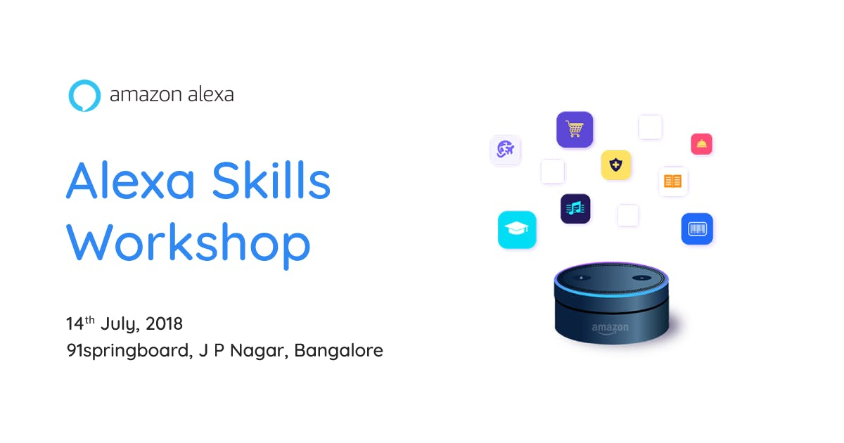 Alexa Skills Workshop Bangalore