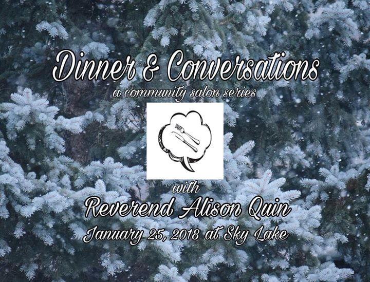 Dinner & Conversations with Reverend Alison Quin