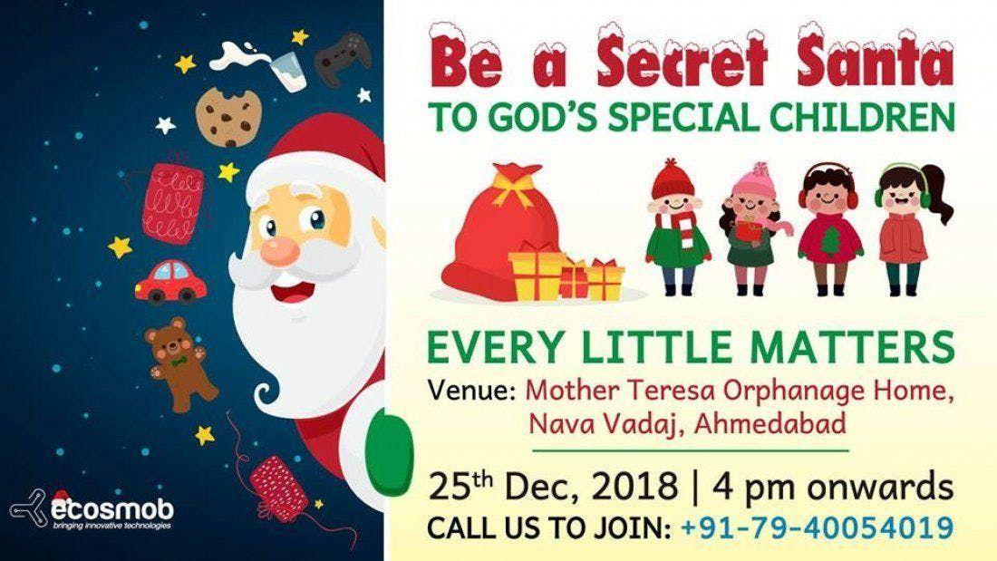 Secret Santa at Orphanage Home - Christmas Celebration