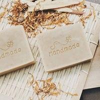 Homemade cold pressed handmade soap ()