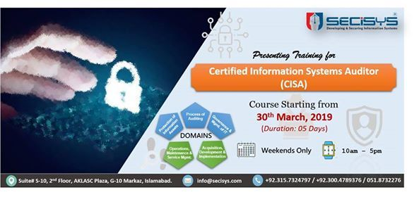 Certified Information Systems Auditor (CISA) Training