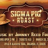 Sigma Pig Roast 2017