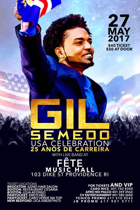Gil Semedo-USA- 25 anos de Carreira