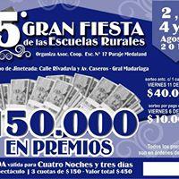 5 Gran Fiesta de las Escuelas Rurales en General J. Madariaga