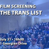 Film Screening - The Trans List