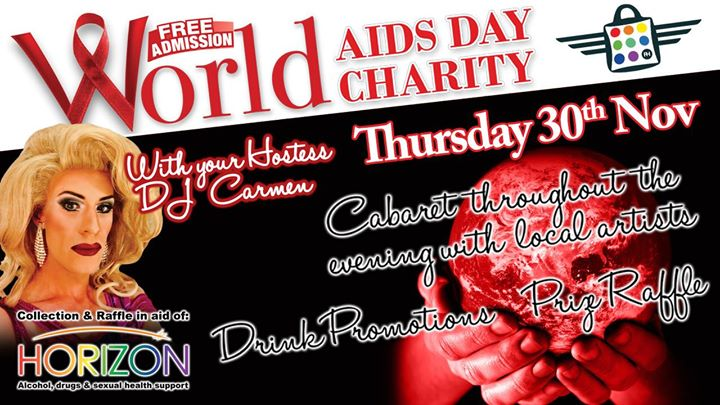 World Aids Day Charity Event At The Flying Handbag Blackpool
