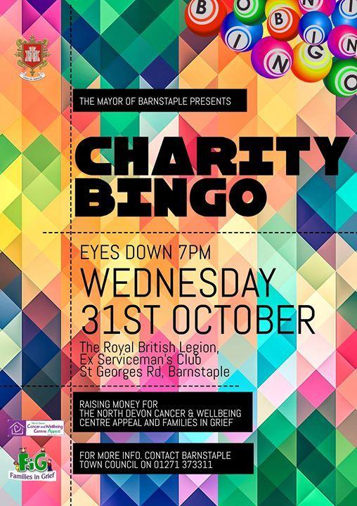 Mayors Charity Bingo