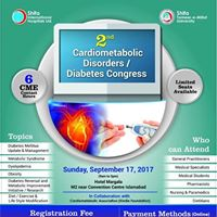 2nd Cardiometabolic Disorders  Diabetes Congress