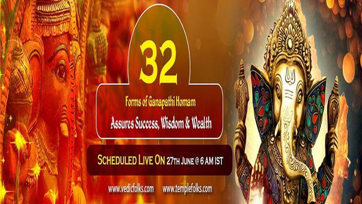 32 forms of Ganesha Homam