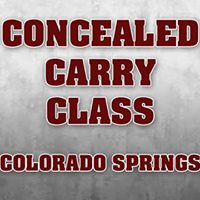 Concealed Carry Class - Colorado Springs