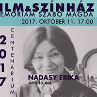 Film &amp Sznhz - Szab Magda Centenriumi Est