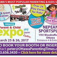 Ottawa Parent &amp Child Expo at Nepean Sportsplex Spring 2017