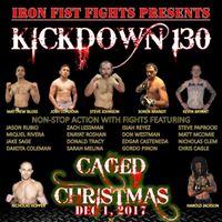 Kick Down 130 Caged Christmas