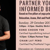 Partner Yoga and Healthy Birth