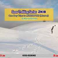 One Day Snow Trekking Trip To Mukshpuri and Dinner at Monal