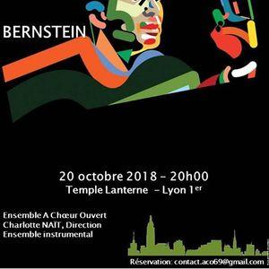 Bernstein avec Ensemble  Choeur Ouvert