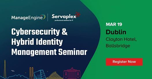 Cybersecurity & Hybrid Identity Management seminar Dublin
