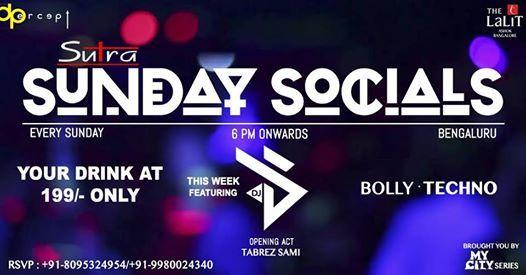 Sutra Sunday Socials