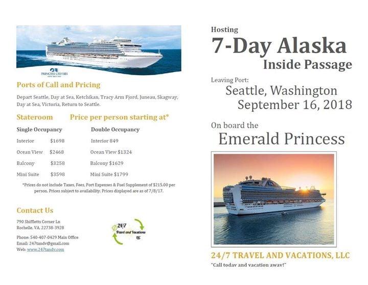 Cruise To Alaska September 2018 At Port Of Seattle Cruise
