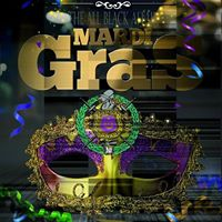 The Omegas of Rock Hill 2017 All Black Affair - Mardi Gras Party
