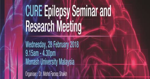 CURE Epilepsy Seminar and Research Meeting