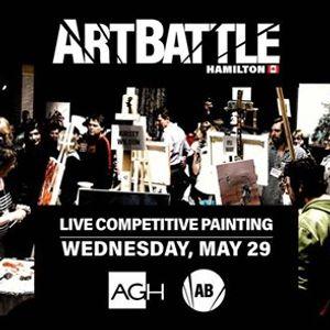 Art Battle Hamilton - May 29 2019