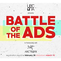 UBCMA X Arcteryx Presents Battle Of The Ads