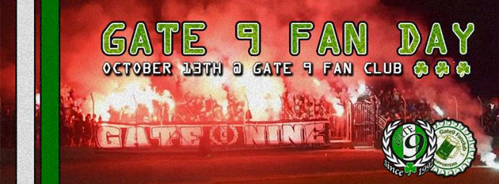 Gate 9 Fan Day