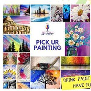 Art Party 0528 &quotPick Your Painting&quot - Charlottetown