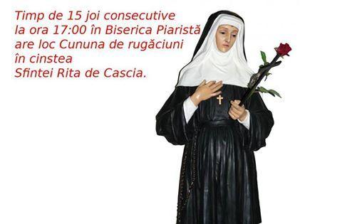 Ziua 11 - Cununa de rugciuni n cinstea Sfintei Rita de Cascia