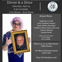 Dame Edna Comedy- Dinner &amp a Show W Impersonator Scott Mason