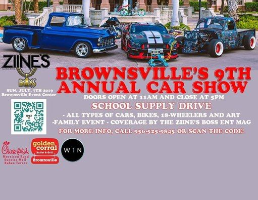 Brownsville 9th ANNUAL JULY 7 2019