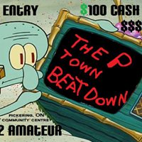 The P Town Beat Down  bboying 2 vs 2 Amateur   Free